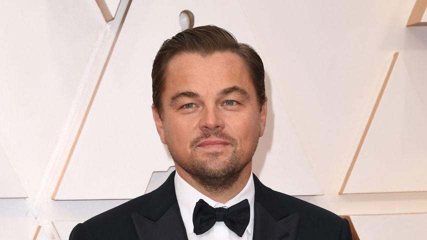 Schauspieler Leonardo DiCaprio bei den Oscars 2020 in Hollywood