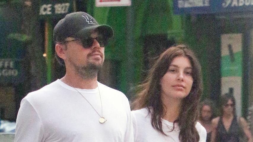 Leonardo DiCaprio und Camila Morrone in New York