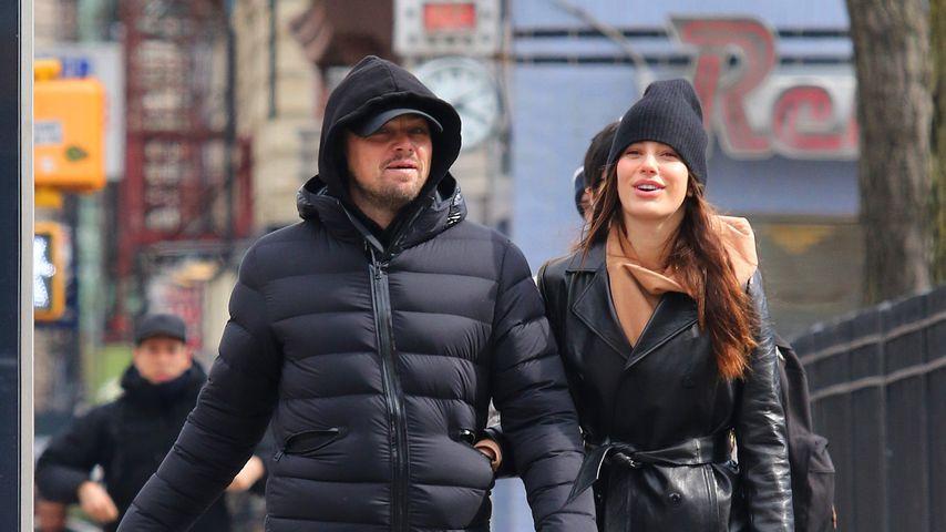 Leonardo DiCaprio und Camila Morrone im Februar 2020