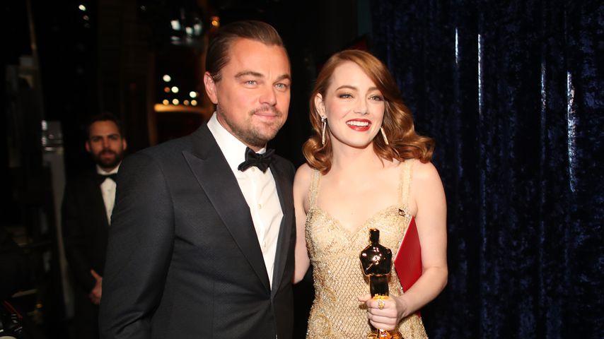 Emma Stone war als Teenie in Leonardo DiCaprio verliebt