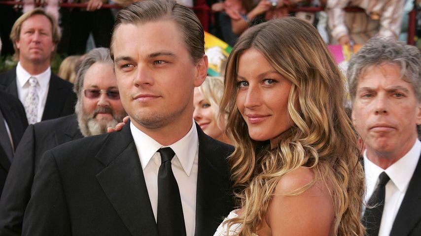 Schauspieler Leonardo DiCaprio und Model Gisele Bündchen, Februar 2005