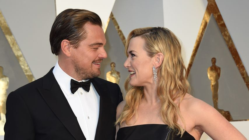 Leonardo DiCaprio & Kate Winslet: Innig bei den Oscars!