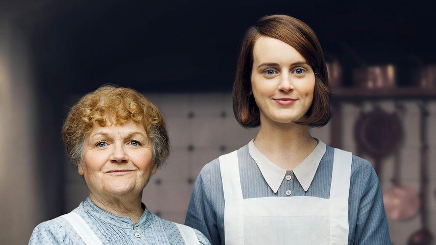 "Mrs. Patmore (Lesley Nicol) und Daisy Mason (Sophie McShera) in ""Downton Abbey"""
