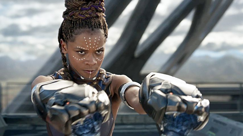 """Letitia Wright als Shuri in """"Black Panther"""""""