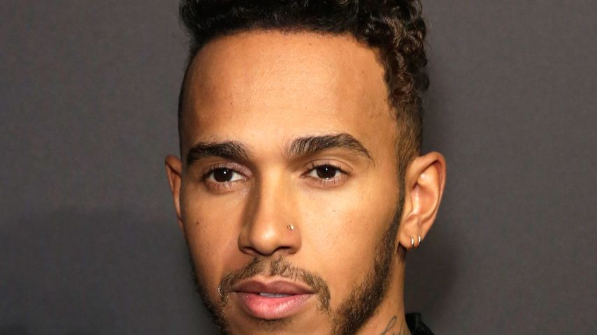 Lewis Hamilton bei der British Fashion Council Vogue Party in London