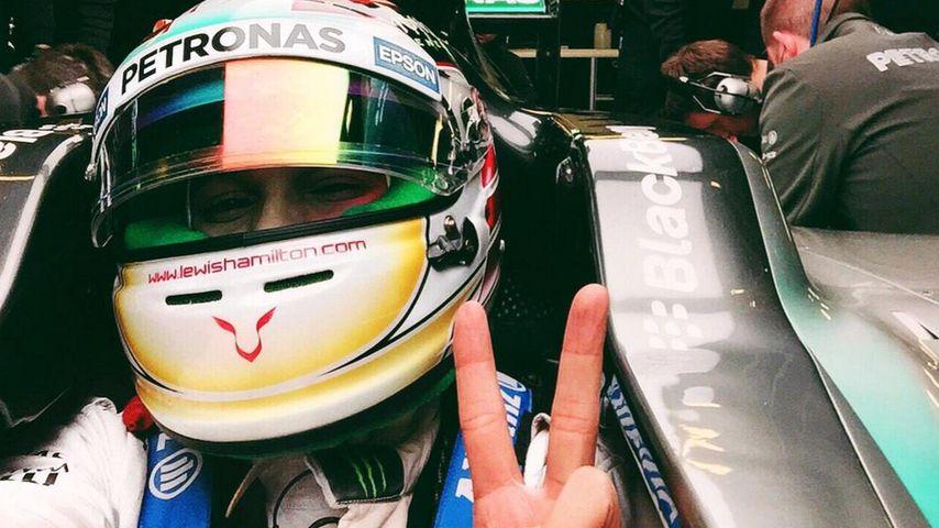 Wegen Liebes-Aus? Lewis Hamilton fühlt sich stark