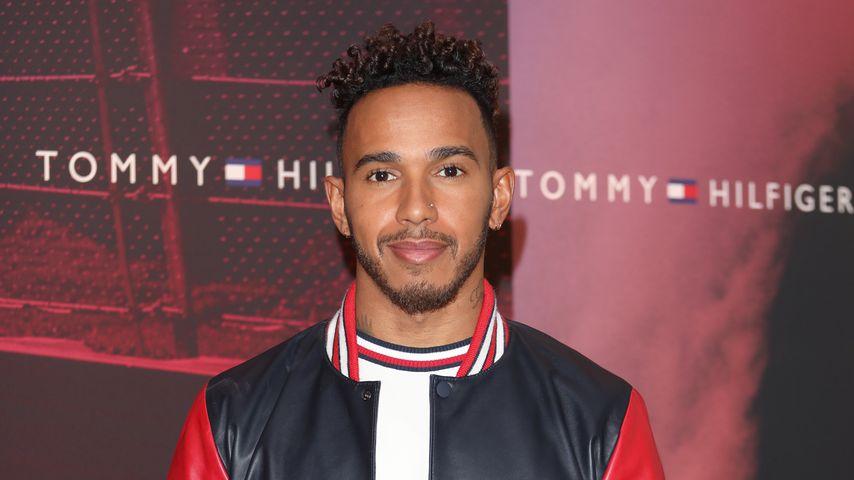 Lewis Hamilton bei dem Lewis Hamilton for Tommy Hilfiger Launch