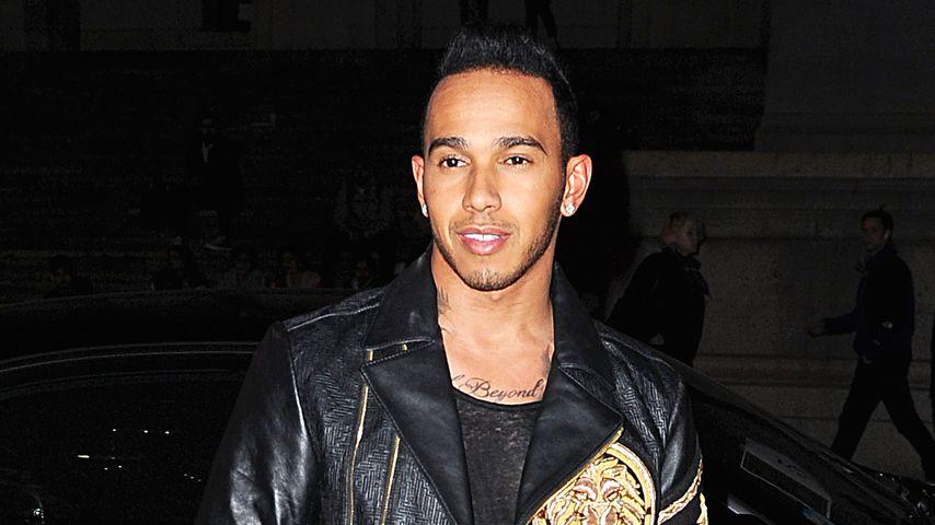 F1-Weltmeister Lewis Hamilton: Jetzt steigt er in den Ring!