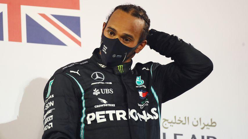 Lewis Hamilton im November 2020 in Bahrain