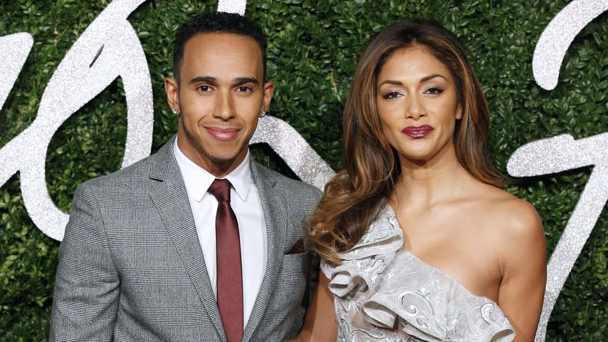 Lewis Hamilton und Nicole Scherzinger bei den British Fashion Awards 2014