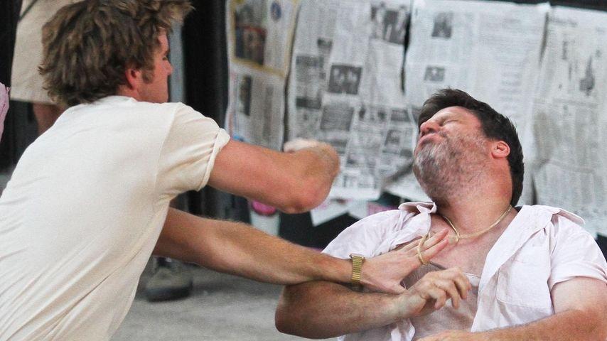 Harte Szenen: Liam Hemsworth schlägt kräftig zu