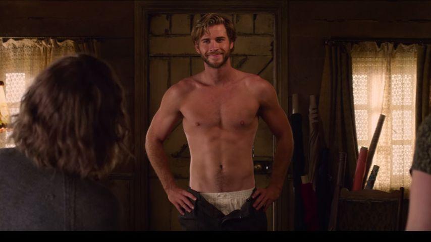 Wegen Oben-Ohne-Szene: Liam Hemsworth aß wochenlang nichts!