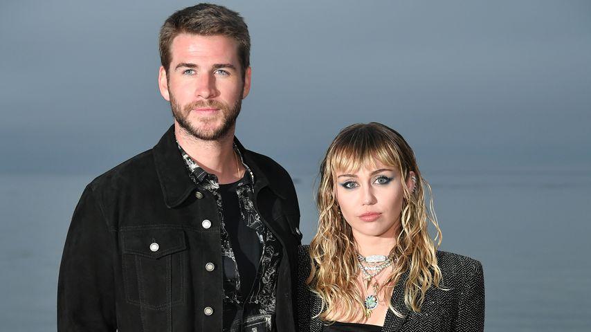 Liam Hemsworth und Miley Cyrus im Juni 2019