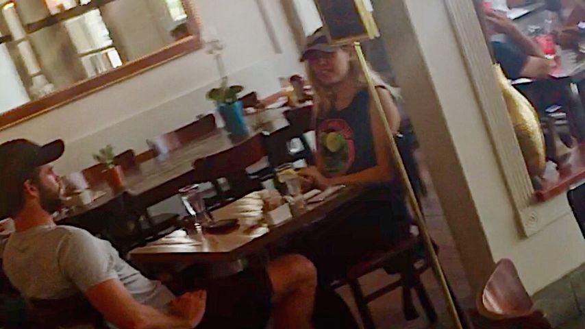 Doch nicht getrennt? Miley Cyrus & Liam genießen Lunch-Date!