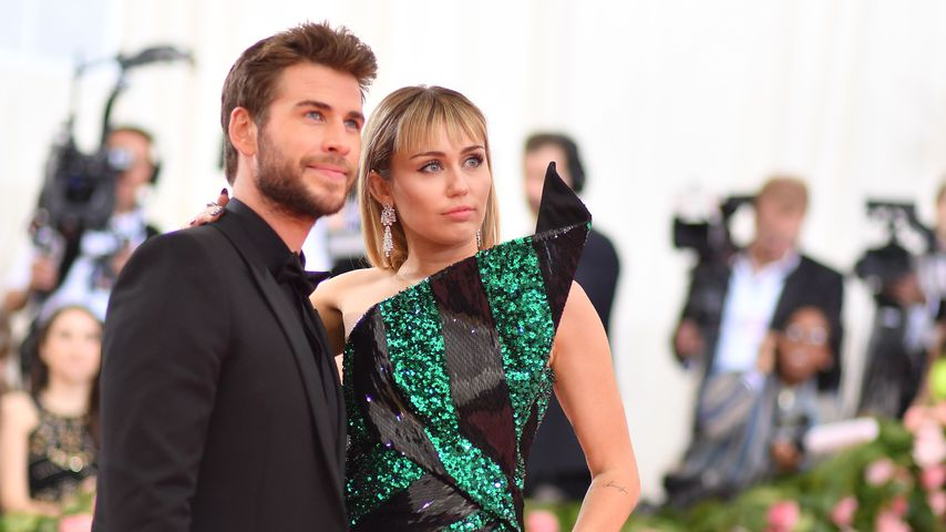 Liam Hemsworth und Miley Cyrus im Mai 2019