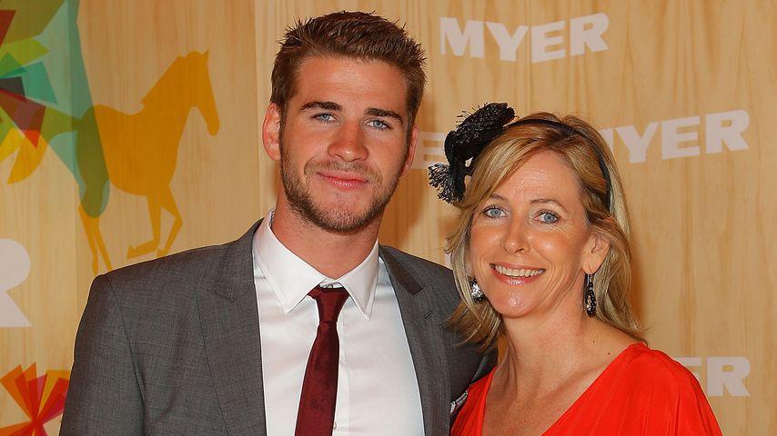 Liam Hemsworth und seine Mutter Leonie