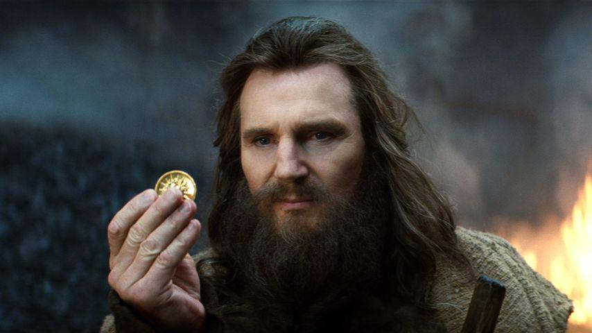 "Liam Neeson als Zeus in ""Kampf der Titanen"" 2010"