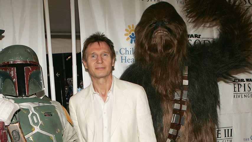 "Liam Neeson, ""Qui-Gon Jinn""-Darsteller in ""Star Wars"""