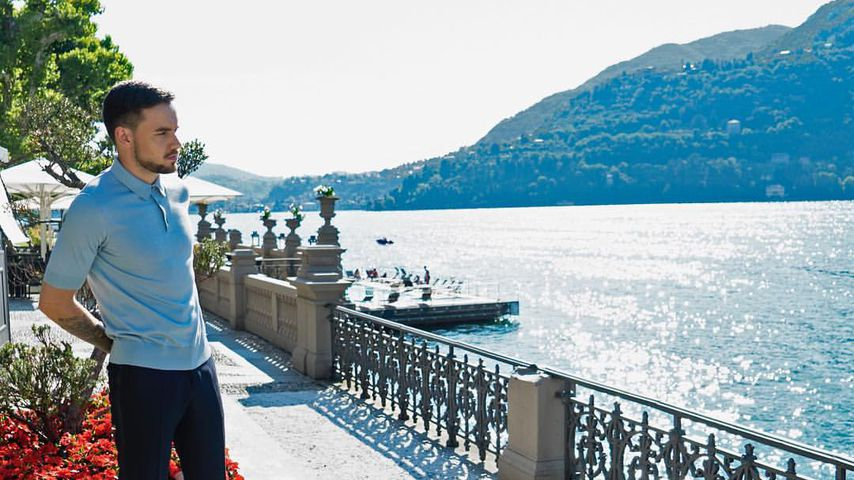 Liam Payne am Comer See in Italien