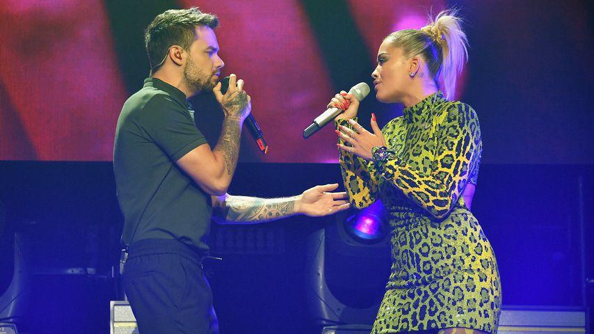 Liam Payne und Rita Ora bei dem MTV VMA Kickoff Konzert in New York