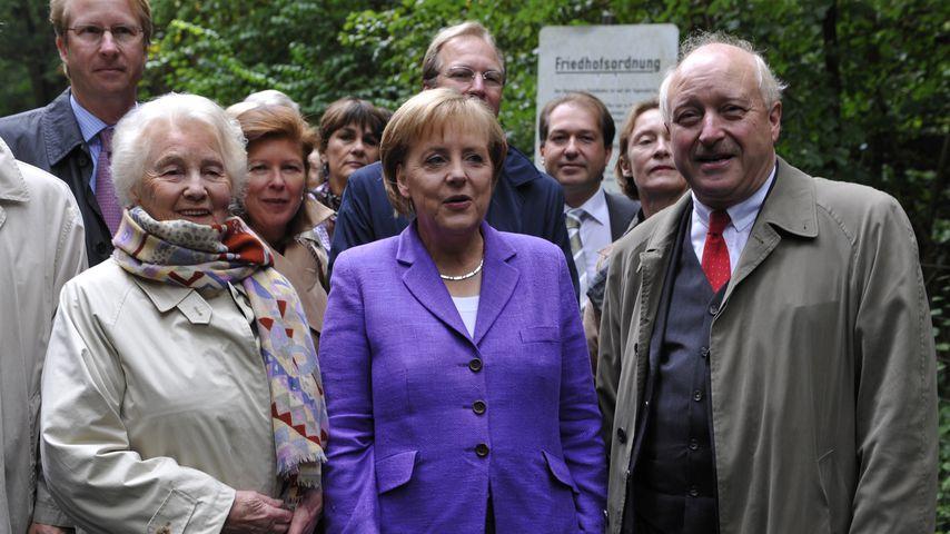 Libet Werhahn und Angela Merkel