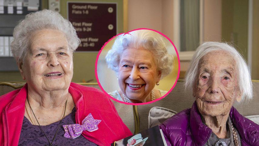 Queen gratuliert: Diese Schwestern leben addiert 208 Jahre!