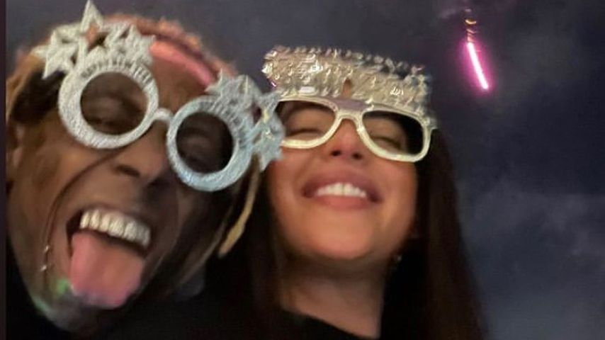 Lil Wayne und Denise Bidot, Silvester 2020