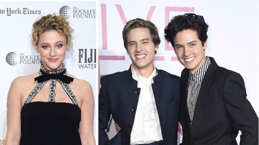 Kann Lili Reinhart Freund Cole und Twin Dylan unterscheiden?