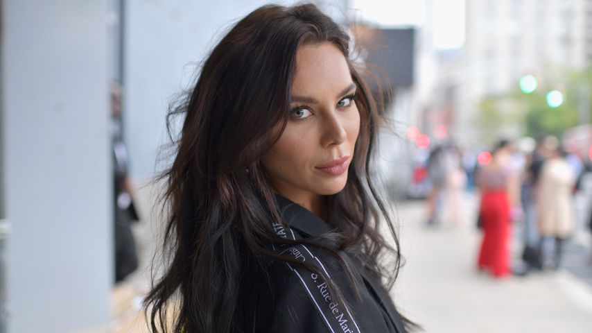 Liliana Nova bei der New York Fashion Week, September 2018