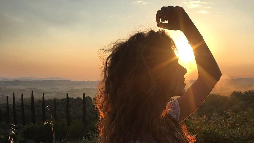 Lilli Holunder in der Toskana
