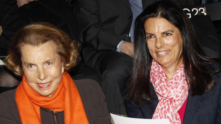 Lilliane Bettencourt und Francoise Bettencourt Meyers