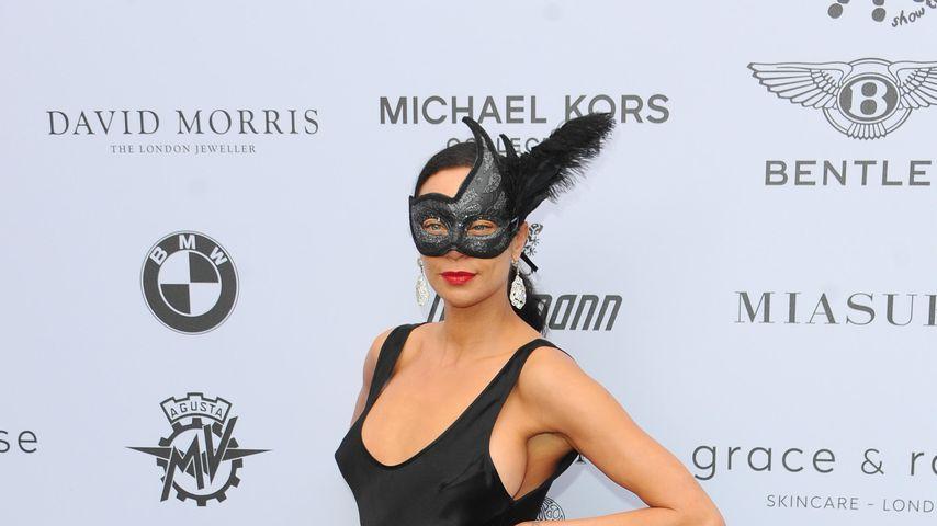 Lilly Becker auf einem Maskenball in London