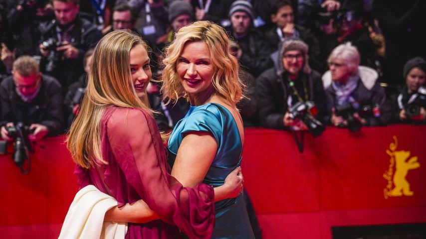 Lilly Krug und Veronica Ferres im Februar 2020 in Berlin
