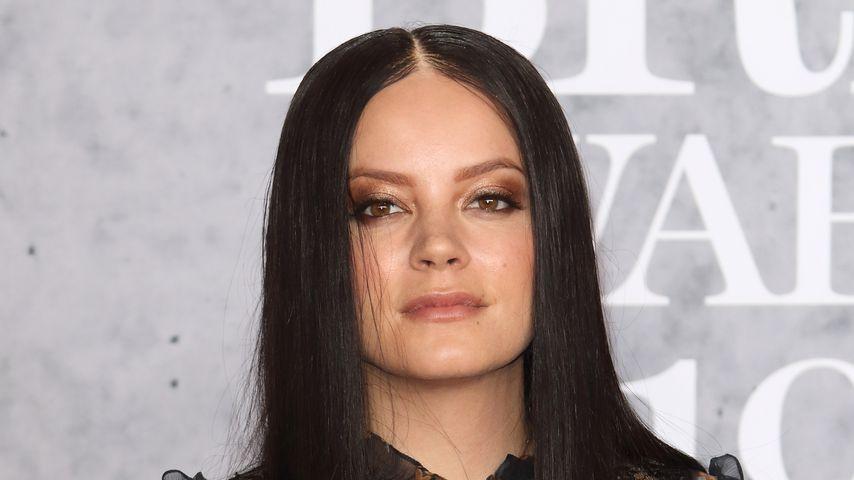 Lily Allen bei den Brit Awards 2019