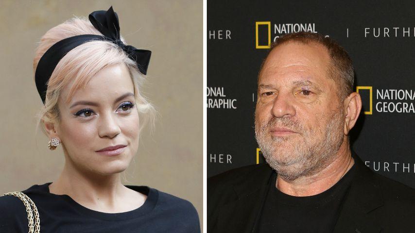 Lily Allen: Harvey Weinstein masturbierte vor ihrer Mutter!