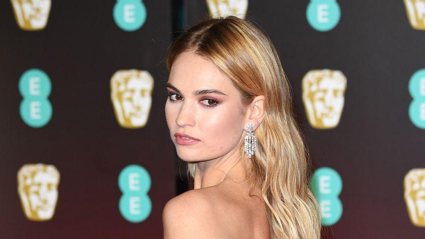 Lily James bei den BAFTA-Awards