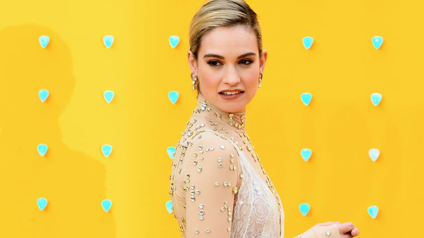 Lily James, Hollywood-Star