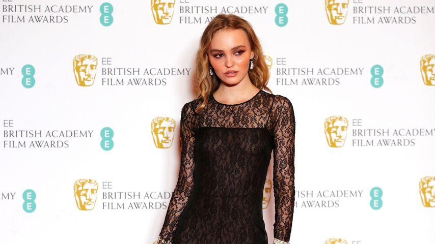 Lily-Rose Depp bei den BAFTA Awards 2020