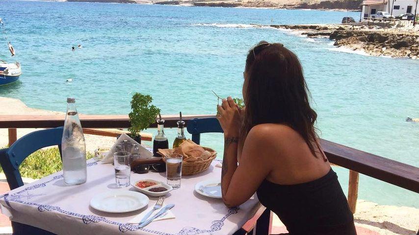 Lina Meyer im Griechenlandurlaub