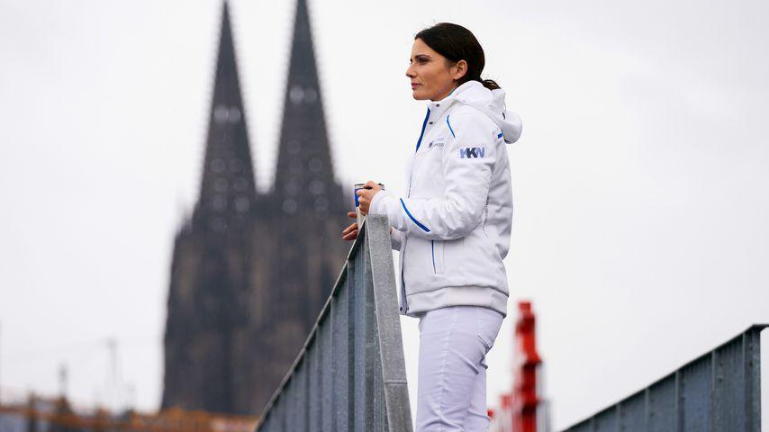 """Linda Marlen Runge als Leonie Mertens für """"Nachtschwestern"""", Juni 2020"""