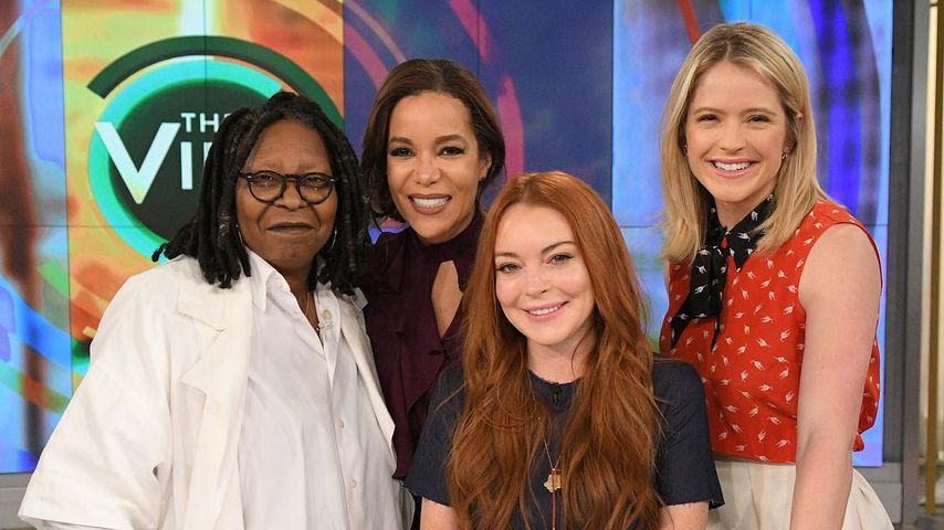 "Lindsay Lohan Anfang 2017 bei ""The View"""