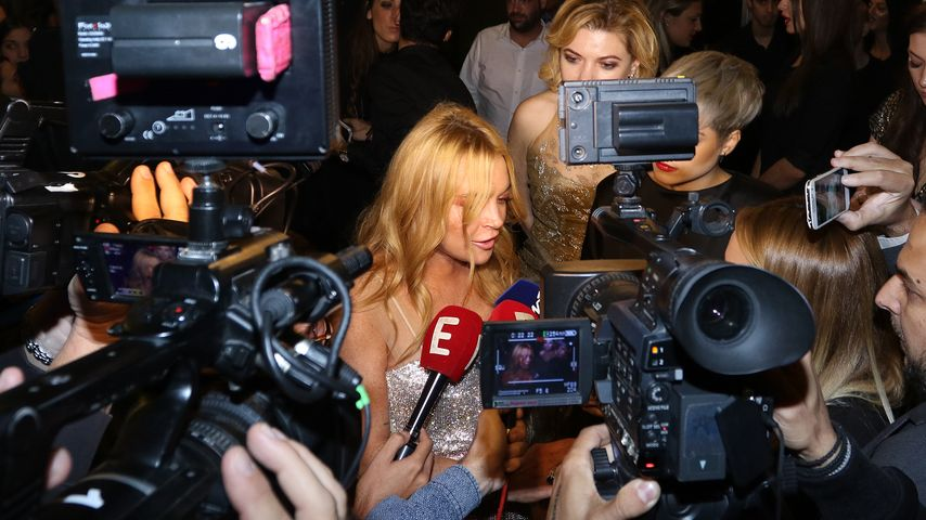 Lindsay Lohan: Sie spricht plötzlich mit Fantasie-Akzent