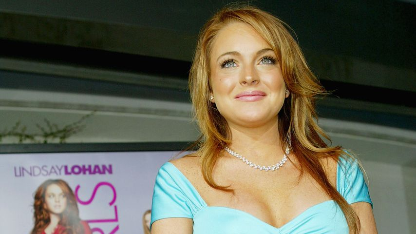 """Lindsay Lohan bei der Premiere von """"Girls Club – Vorsicht bissig!"""" im Jahr 2004 in Los Angeles"""