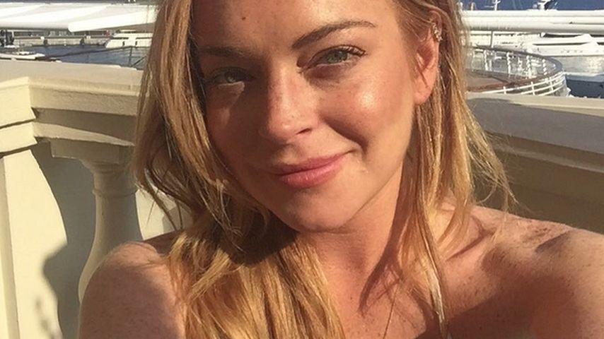 Lindsay Lohan im Urlaub