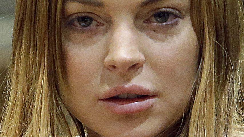 Vom Richter verordnet: 90 Tage Entzug für Lindsay!