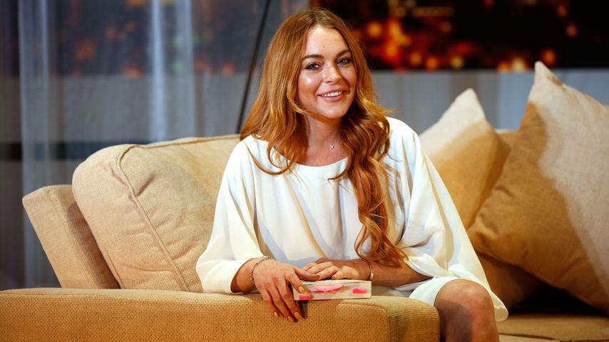 Schauspiel-Comeback: Lindsay Lohan spielt in Netflix-Film