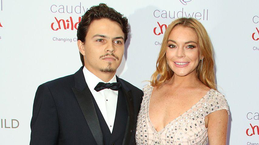 Lindsay Lohan in love: 1. Red-Carpet-Auftritt mit ihrem Egor