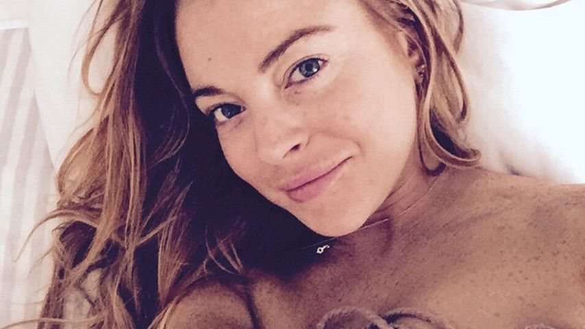Endlich mal Natur: Lindsay Lohan zeigt Photoshop-freies Pic
