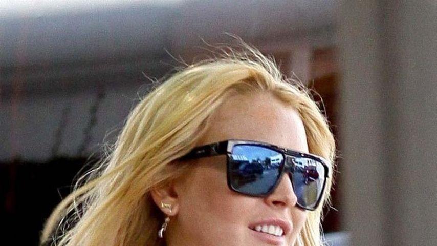Mit wem feiert Lindsay Lohan wohl Weihnachten?