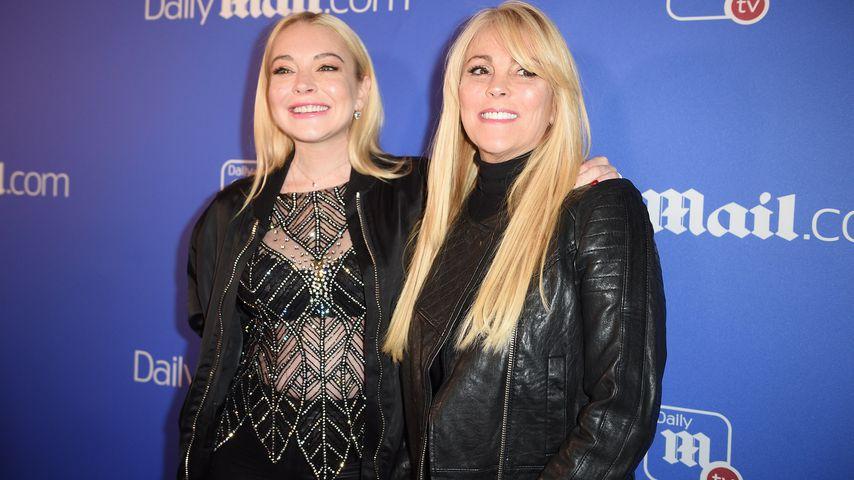 Lindsay und Dina Lohan, Dezember 2017
